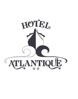 Rooms of Hotel Atlantique on Belle-Ile-en-Mer